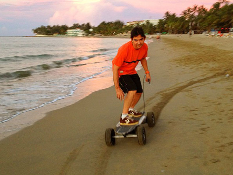 All Terrain Capability-Our pneumatic equipped powerboards can be ridden almost anywhere.